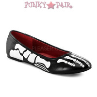 X-Ray-01, Skeleton Flat Shoes