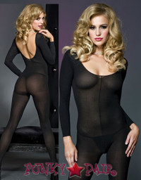 Scoop Neck Bodystocking * ML-1774