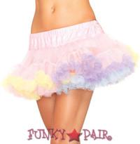 A1838, Rainbow Trim Petticoat