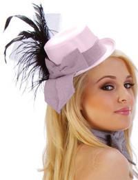 SA1023, Small pink cigarette hat