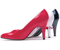 E-8240-D, 4 Inch High Heel Wide Width Pumps