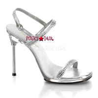 CHIC-17, Formal Dress Shoes with Rhinestones Made By PLEASER Shoes