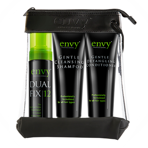 Envy Repair Gift Set, Dual Fix 12, shampoo and conditioner