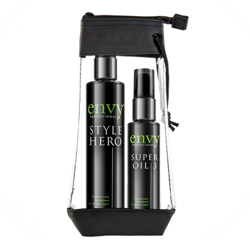 Envy De-Frizz Styling Duo, Style Hero and Super Oil 3