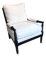 Black Spool Chair