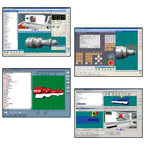 VR CNC Turning / Operating Software