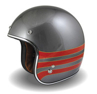 Torc DOT 3/4 Motorcycle Open Face Helmet with Fastlane design