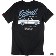 Biltwell Towing Pocket Tee-Shirt in Black - Back