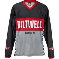 Biltwell Comp Moto Riding Jersey - Front