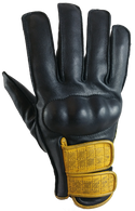 Torc Melrose Leather Gloves in Black - Top
