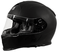 Torc T-14 DOT-Approved Full Face Motorcycle Helmet in Flat Black - Overview