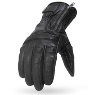 Torc Cajon Leather Moto Gloves in Black