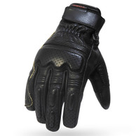 Torc Fullerton Leather Mot Gloves in Black