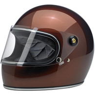 Biltwell Gringo-S Full Face Moto Helmet in Bourbon Metallic - Overview