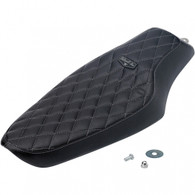 Biltwell Banana Seat with Black Diamond vinyl pattern