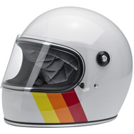 Biltwell Gringo-S Full Face Moto Helmet in Tri-Stripe - Overview