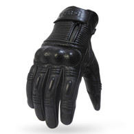Torc Ventura Leather Moto Gloves in Black