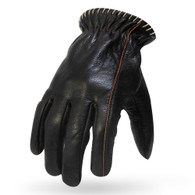 Torc Venice Leather Moto Gloves in Brown