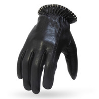 Torc Venice Leather Moto Gloves in Black