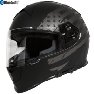 BLOWOUT! Torc T-14 Full Face Helmet w/Blinc Bluetooth - Black Flag