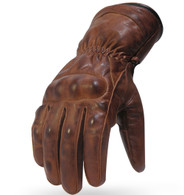 BLOWOUT! Torc Donner Leather Gloves - Antique Brown