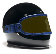Equilibrialist Knox Maska Visor 2nd Anniversary Limited Edition Blue/Yellow - Front