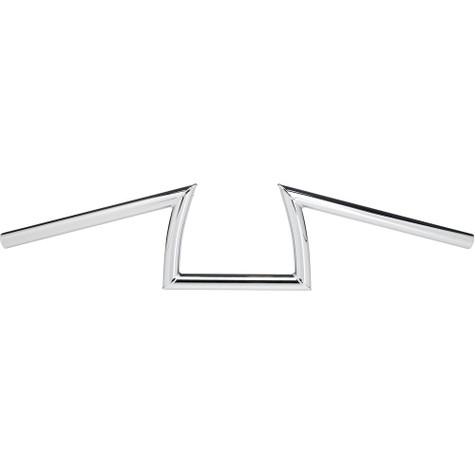 "Biltwell Keystone Handlebars 1"" size with Chrome finish"