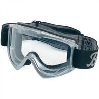 Biltwell Moto Motorcycle Goggles in Grey - Front