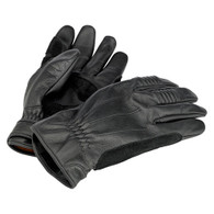 Biltwell Work Riding Motorcycle Gloves in Black