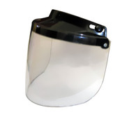 Daytona Flip Up Visor for 3-Snap Helmets with Clear Lens