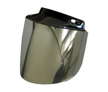 Daytona Flip Up Visor for All 3-Snap Helmets with Mirrored Lens