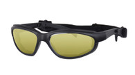 Daytona Interchangeable Goggles/Sunglasses - Yellow Lens.