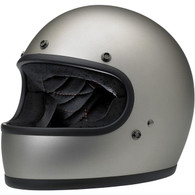 Biltwell Gringo Full Face Helmet in Flat Titanium - Overview
