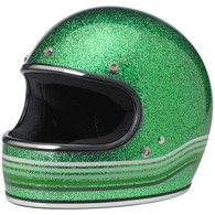 Biltwell Limited Edition Gringo Helmet in Gang Green Spectrum Finish - Overview