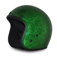 Green Metalflake Daytona Cruiser 3/4 DOT Helmet