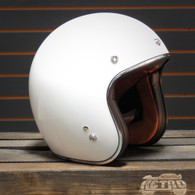 Torc T-50 Gloss White Moto Helmet - Overview