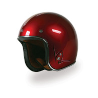 Torc T-50 Open Face 3/4 Helmet with Pinstriped Design