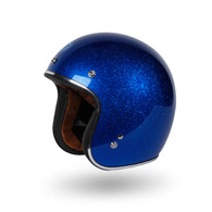 Torc 3/4 Open Face Helmet - T-50 Super Flake Blue Berry