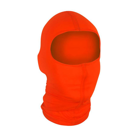 ZAN Balaclava in Nylon - High Visibilty Orange