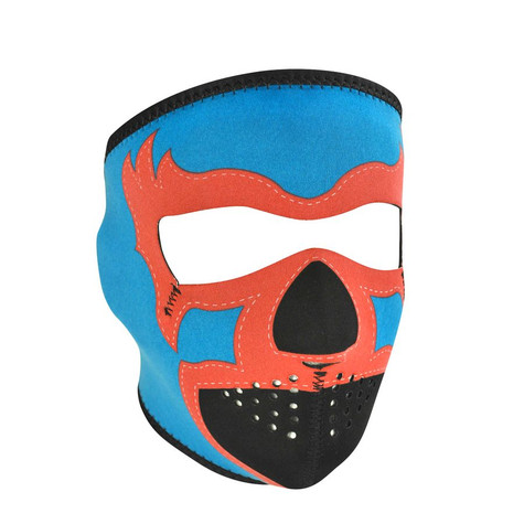 Zan Headgear Full Face Mask - Blue Lucha Libre