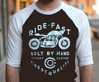 Efficacy Clothing Ride-Fast Baseball Tee