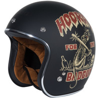 Torc T50 Dirty Rat 3/4 Helmet in Flat Black