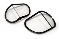 Halcyon Laminated Glass Replacement Split Lens in Clear for Aviator Goggles