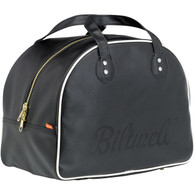 Biltwell Rover Helmet Bag in Black/White - Closed