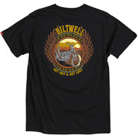Biltwell Get Lost Men's T-Shirt in Black - Back