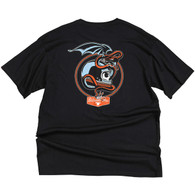 Biltwell Serpent Men's T-Shirt in Black - Back