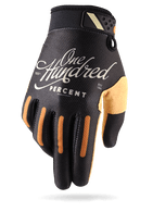 100% RideFit Motorcycle Gloves in Classic Design