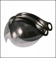 Origine Pilota Replacement Shield available in Light Smoke, Dark Smoke, Chrome Mirror, Rainbow Mirror, and Clear.