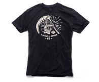 100% Reeper Cotton Blend T-Shirt in Black