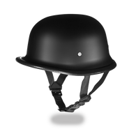 RBG German Novelty Helmet in Matte Flat Black